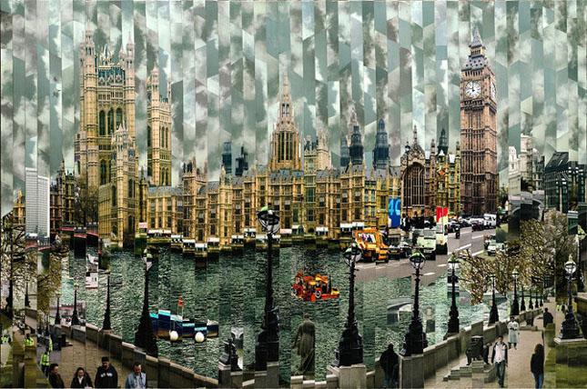 Colaje impresionante de Serge Mendjisky - Poza 42