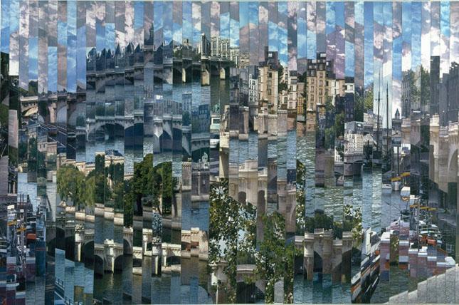 Colaje impresionante de Serge Mendjisky - Poza 43