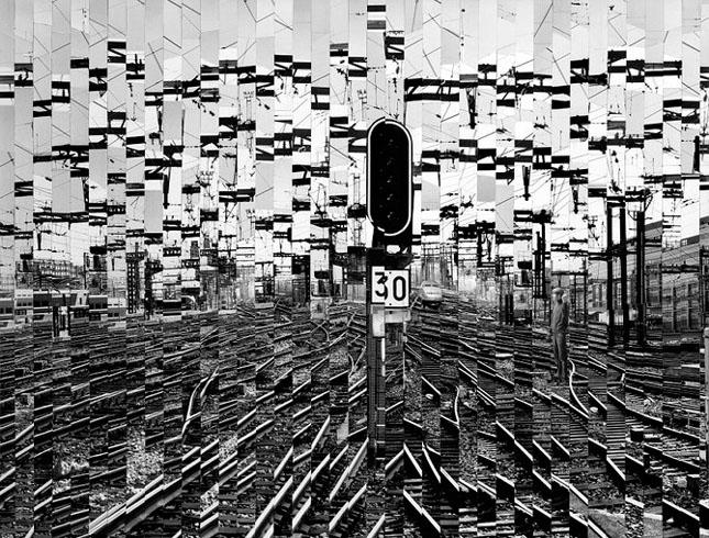Colaje impresionante de Serge Mendjisky - Poza 47