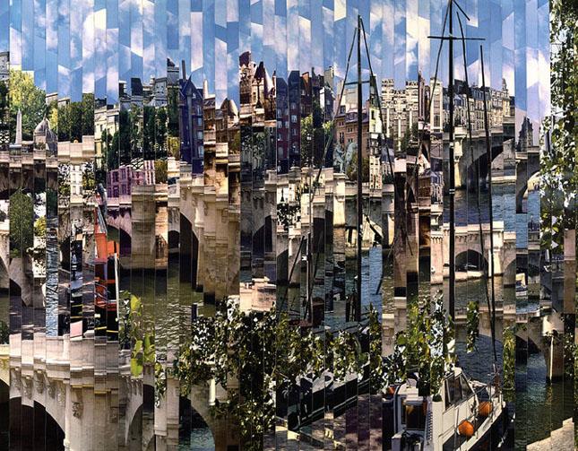 Colaje impresionante de Serge Mendjisky - Poza 51
