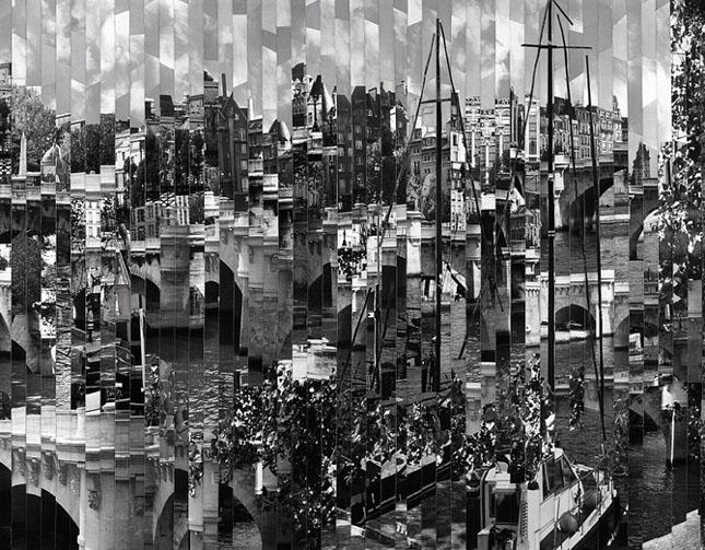 Colaje impresionante de Serge Mendjisky - Poza 52