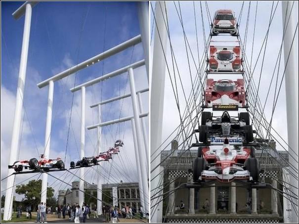 Sculpturi cu masini de Gerry Judah - Poza 4