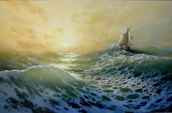 35 de picturi: Marea si corabiile - Poza 2