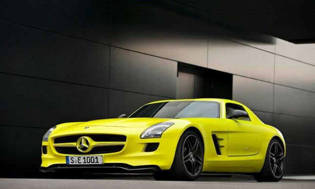 Prototipul Mercedes-Benz SLS AMG E-Cell - Poza 4