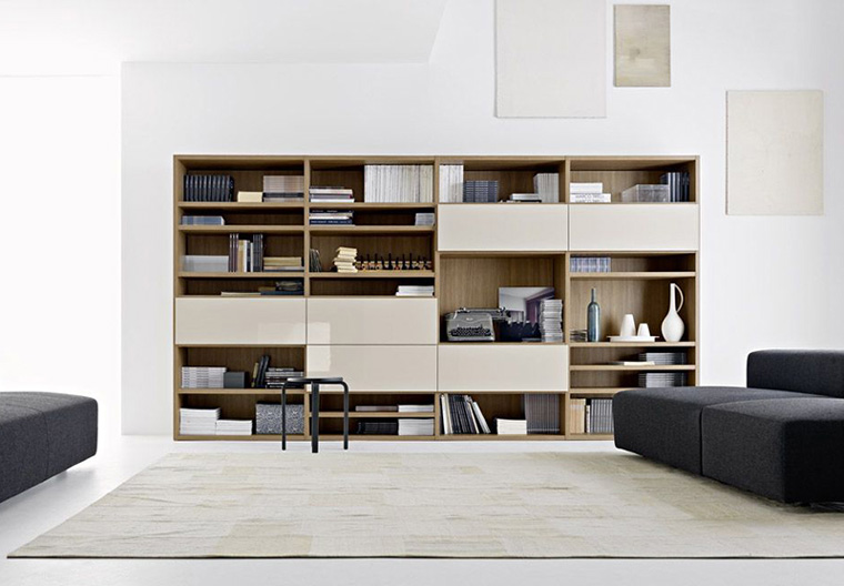 biblioteca minimalista