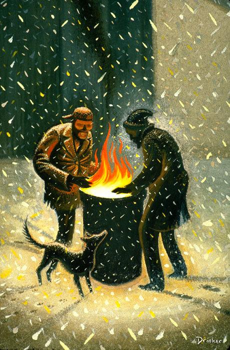 Viziunea asupra artei a lui Eric Drooker - Poza 1