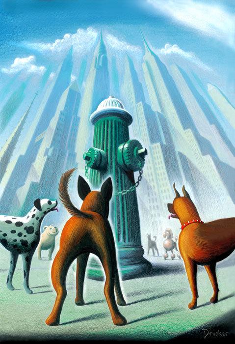 Viziunea asupra artei a lui Eric Drooker - Poza 3