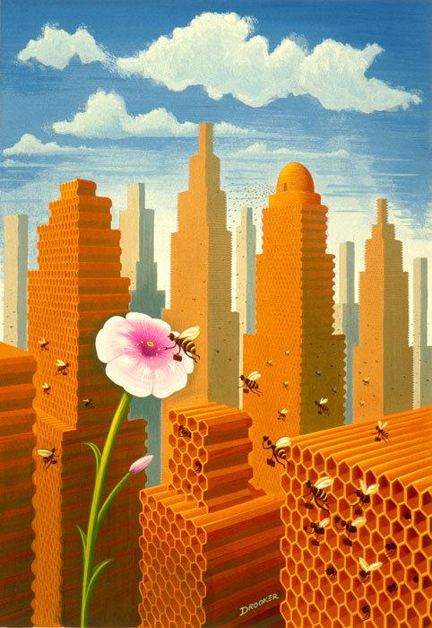 Viziunea asupra artei a lui Eric Drooker - Poza 4