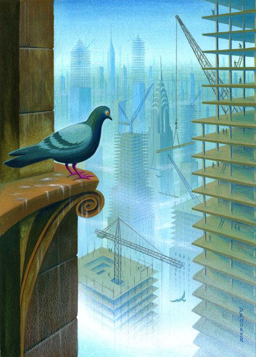 Viziunea asupra artei a lui Eric Drooker - Poza 11