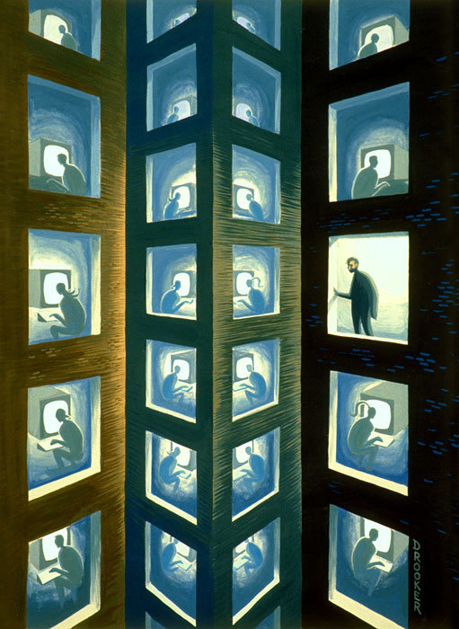 Viziunea asupra artei a lui Eric Drooker - Poza 13