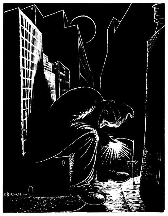 Viziunea asupra artei a lui Eric Drooker