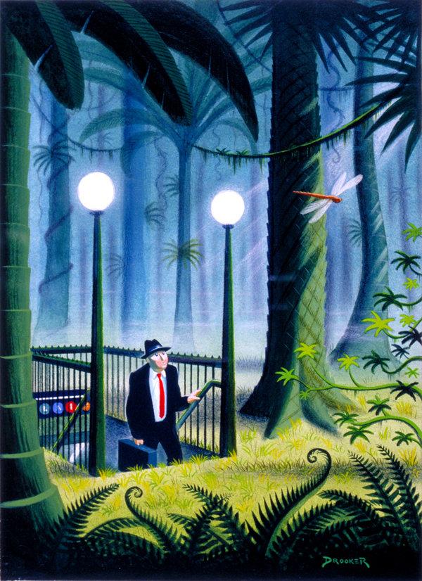 Viziunea asupra artei a lui Eric Drooker - Poza 25
