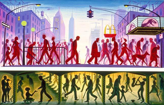 Viziunea asupra artei a lui Eric Drooker - Poza 34