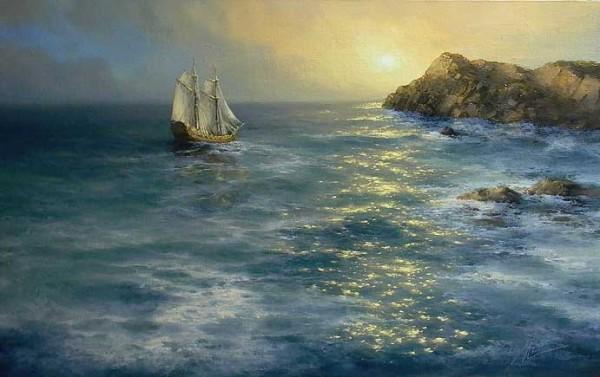 35 de picturi: Marea si corabiile - Poza 29