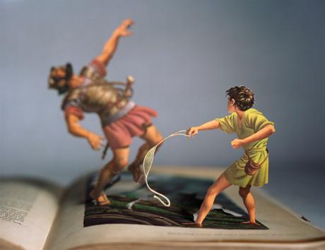 Creatii 3D din coperte de carti - Poza 11