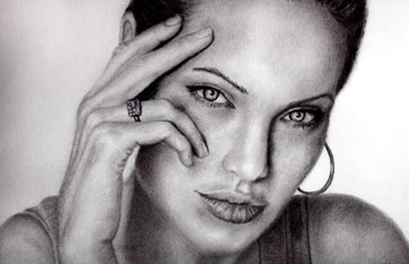 Celebritati: 40 de portrete excelente in creion - Poza 31