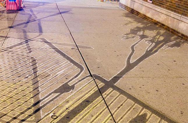 Opere stradale bazate pe umbre - Poza 8