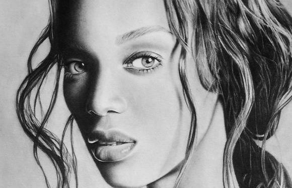Celebritati: 40 de portrete excelente in creion - Poza 32
