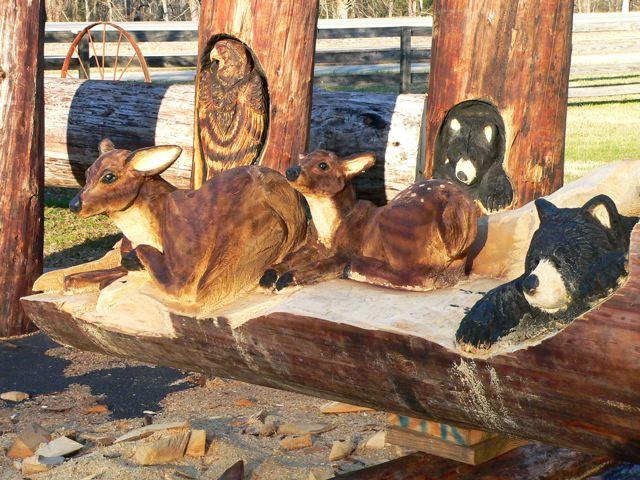 Sculptura in lemn de Randall D.Boni - Poza 6