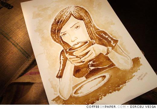 Coffee Art: Dirceu Veiga - Poza 1
