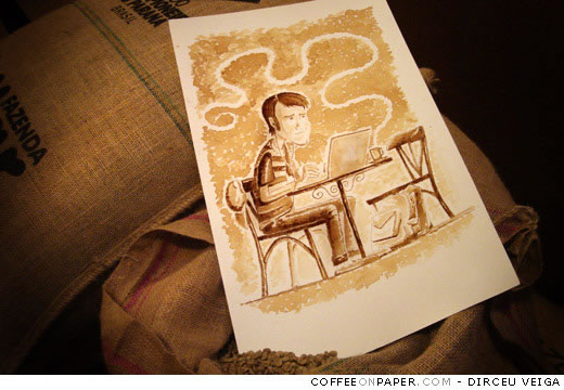 Coffee Art: Dirceu Veiga - Poza 4