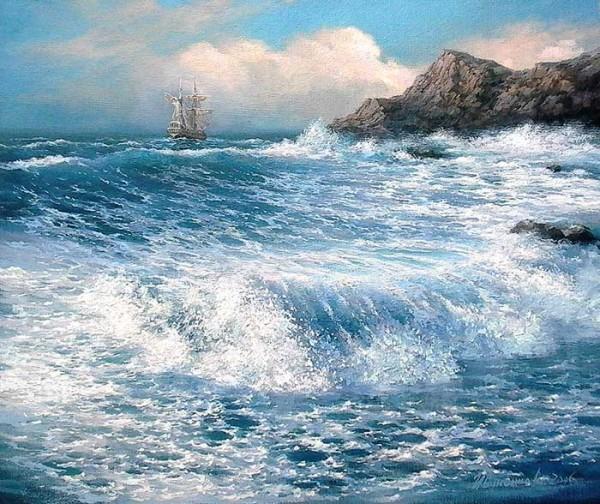 35 de picturi: Marea si corabiile - Poza 31