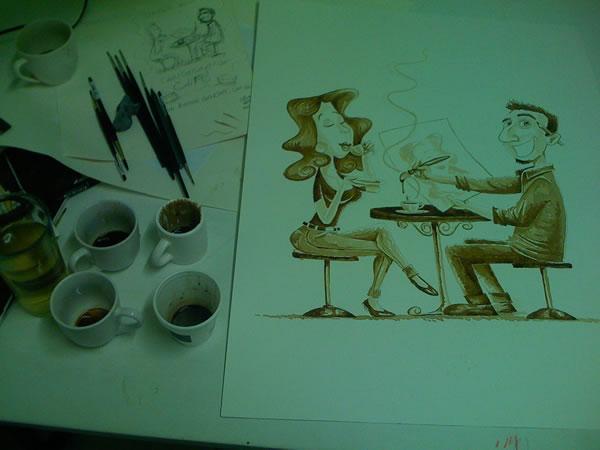 Coffee Art: Dirceu Veiga - Poza 9