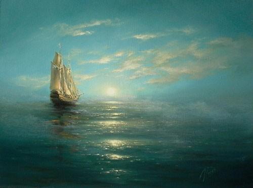 35 de picturi: Marea si corabiile - Poza 35