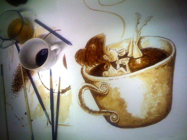 Coffee Art: Dirceu Veiga - Poza 10