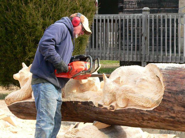 Sculptura in lemn de Randall D.Boni - Poza 7