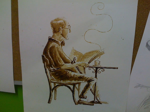 Coffee Art: Dirceu Veiga - Poza 11