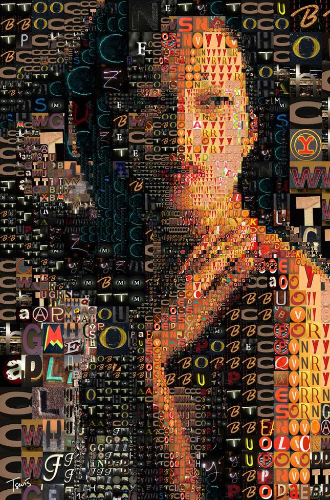 Portrete uimitoare in mozaic - Poza 8