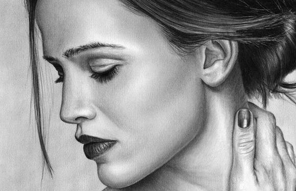Celebritati: 40 de portrete excelente in creion - Poza 39
