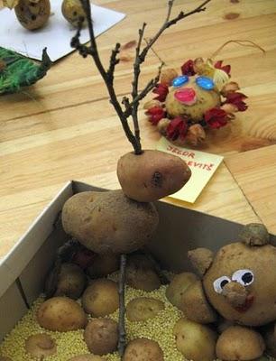 Sculptura in... cartofi! - Poza 4