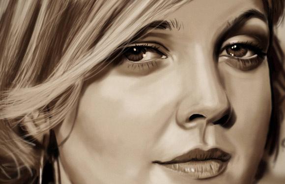 Celebritati: 40 de portrete excelente in creion - Poza 40