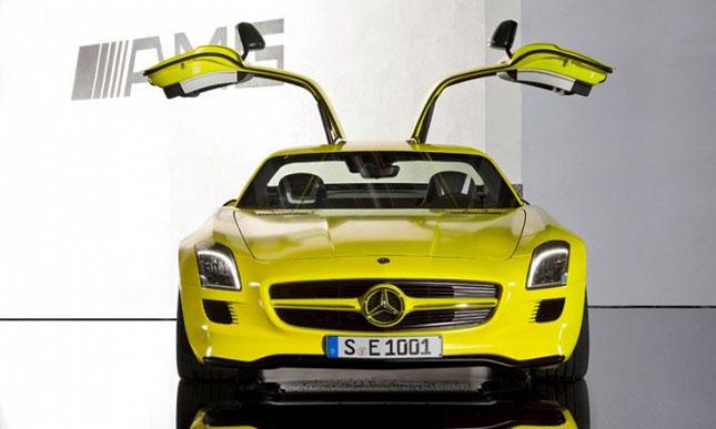 Prototipul Mercedes-Benz SLS AMG E-Cell - Poza 6