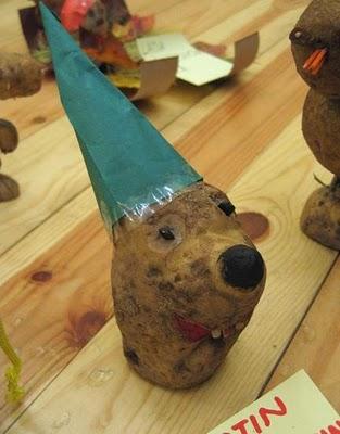 Sculptura in... cartofi! - Poza 5