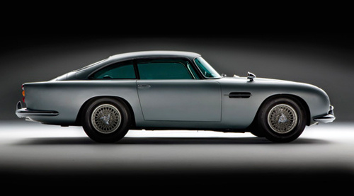 Aston Martinul DB5 al lui James Bond - Poza 2
