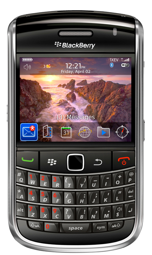 BlackBerry 9650 si BlackBerry Pearl 3G - Poza 1