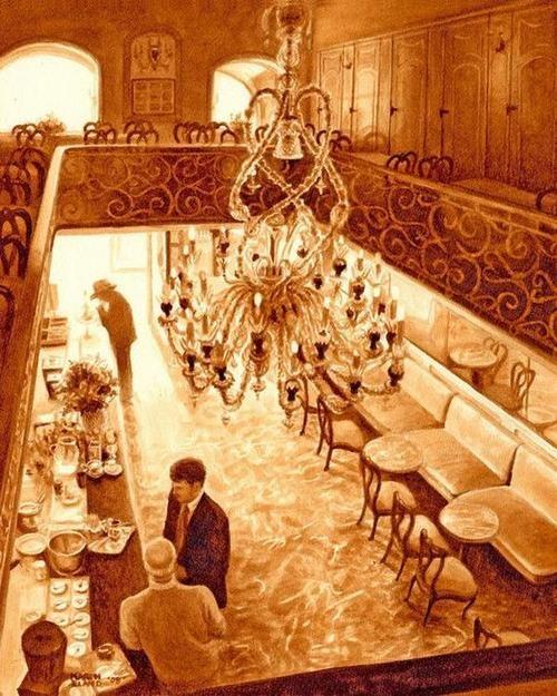 Picturi extraordinare din cafea... - Poza 22