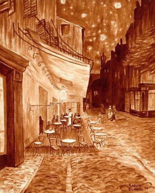 Picturi extraordinare din cafea... - Poza 21
