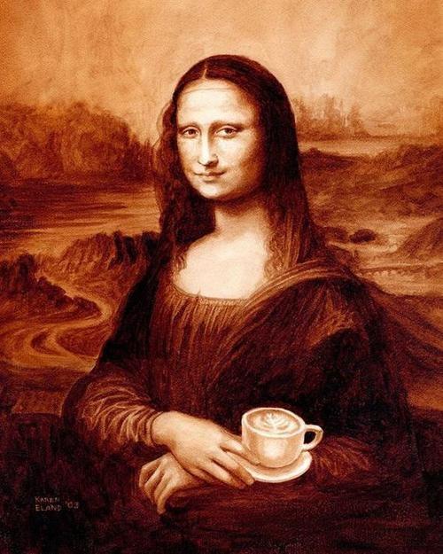 Picturi extraordinare din cafea... - Poza 1