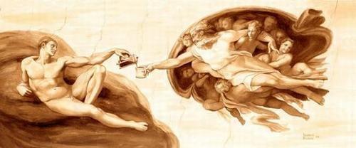 Picturi extraordinare din cafea... - Poza 14