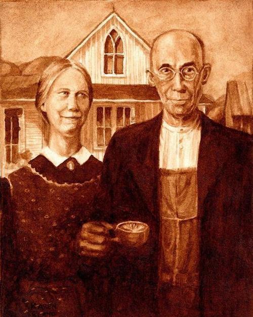Picturi extraordinare din cafea... - Poza 5