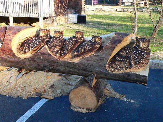 Sculptura in lemn de Randall D.Boni - Poza 9