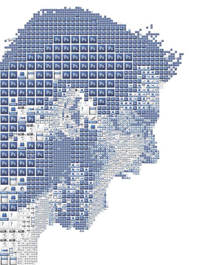 Portrete uimitoare in mozaic - Poza 10