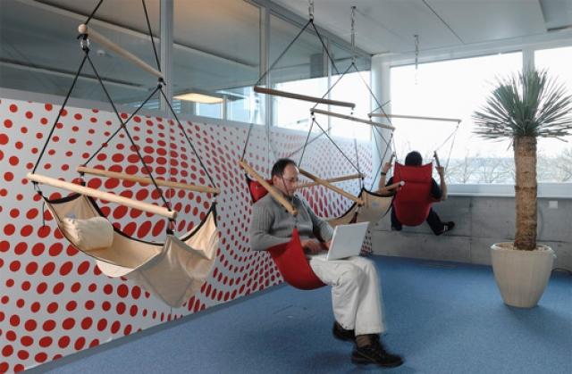Cum arata sediile Google din California si Zurich? - Poza 18