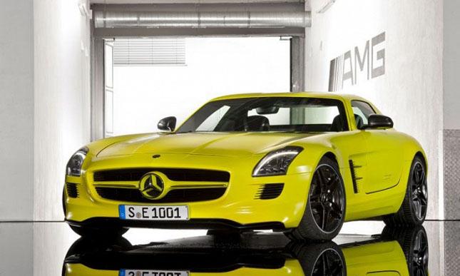 Prototipul Mercedes-Benz SLS AMG E-Cell - Poza 7