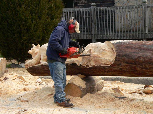 Sculptura in lemn de Randall D.Boni - Poza 10