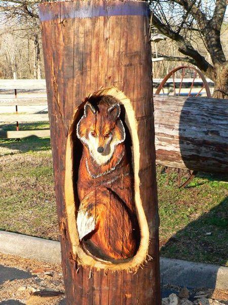 Sculptura in lemn de Randall D.Boni - Poza 12